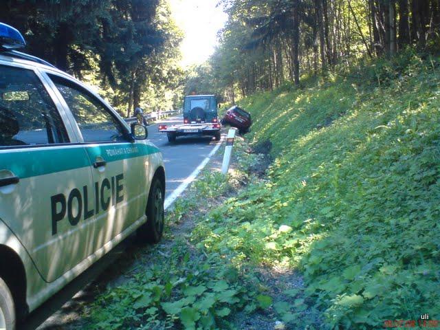 Odtahová služba - autonehoda